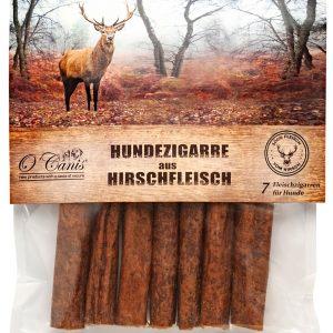 getreidefreier Kausnack vom Hirsch, die Hundezigarre Premium